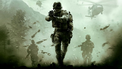 Un'immagine di Call of Duty Modern Warfare.