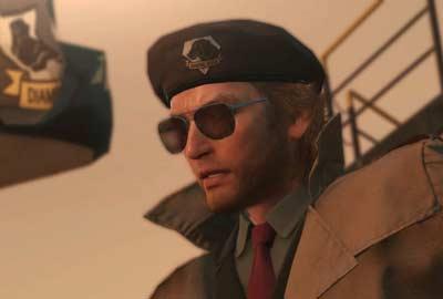 Un'immagine di Master Miller su Metal Gear Solid 5.