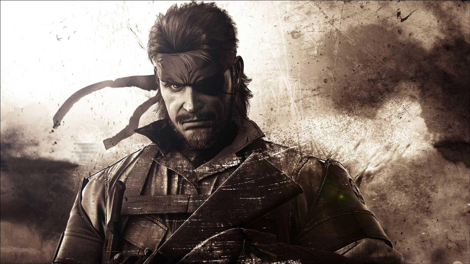 Un'immagine artistica di Metal Gear Solid.