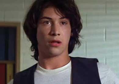 Keanu Reeves con la faccia perplessa, forse per i salvataggi persi.