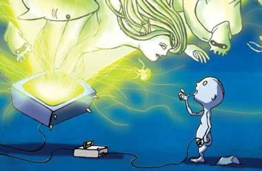 Videogiochi e magia, un'immagine onirica.