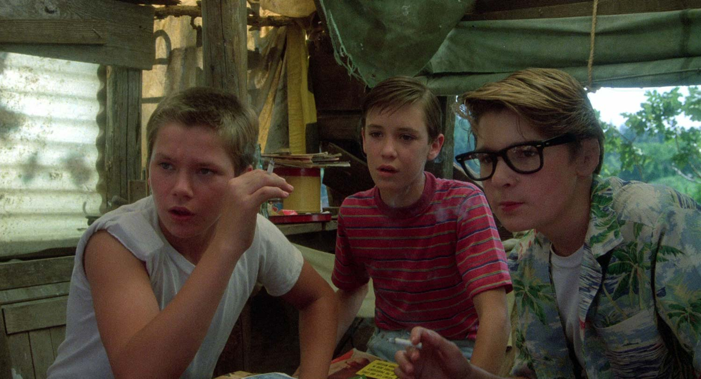 Un'immagine tratta da Stand By Me, film rappresentativo.