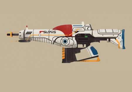 Suros Regimen e Suros, una foto del fucile d'assalto di cui parlo nell'articolo.