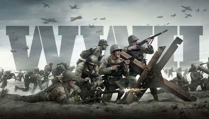 Un'immagine da copertina di Call of Duty WW2.