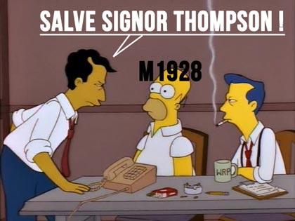 Thompson COD WW2.