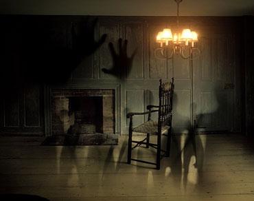 una casa infestata da fantasmi