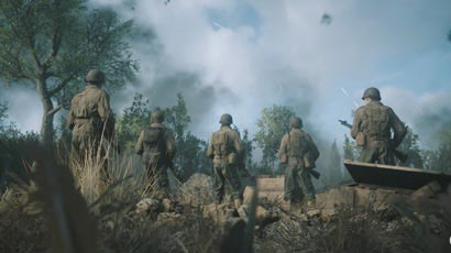 Una delle prime immagini che uscì per COD WW2.