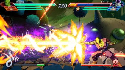 Dragonball FighterZ il cannone speciale.