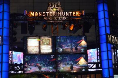 Monster Hunter World al Tokyo Game Show.