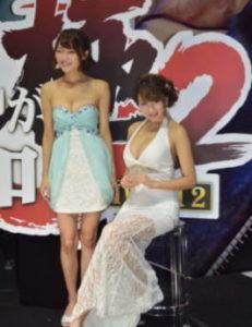 Ragazze al Tokyo Game Show.