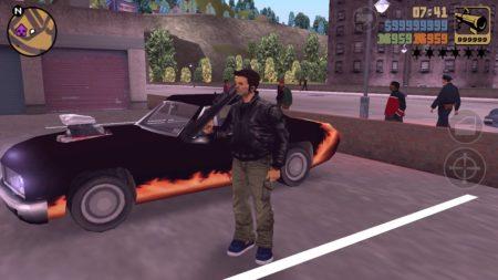 Screenshot di GTA 3.