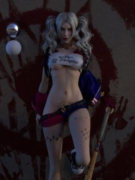 Harley Quinn Halloween giochi horror