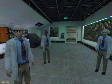 Half life, immagine di gioco.