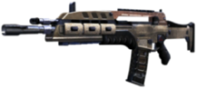 Fucile d'assalto M8A1 presente su Black Ops 2.