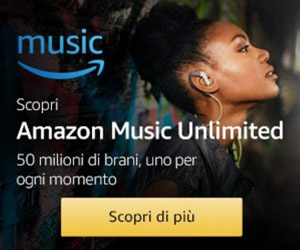 Musica Illimitata su Amazon
