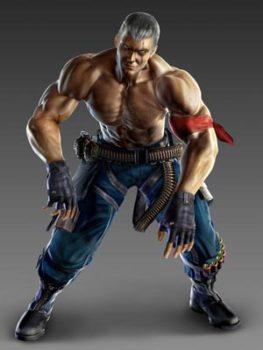 Bryan Fury di Tekken.