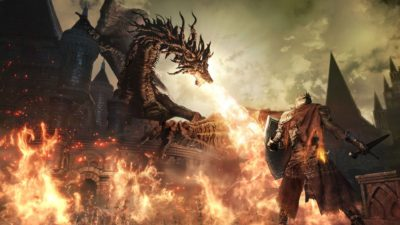 Dark Souls 3, un gioco recente ma difficile.