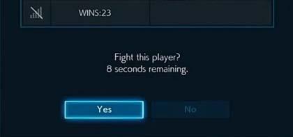 Tekken Matchmaking.