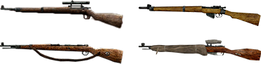 I fucili da cecchino di COD 2.