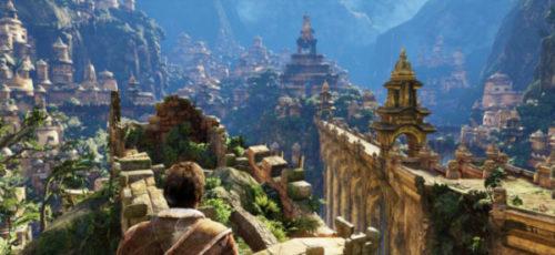 Shambala città nascosta su Uncharted.