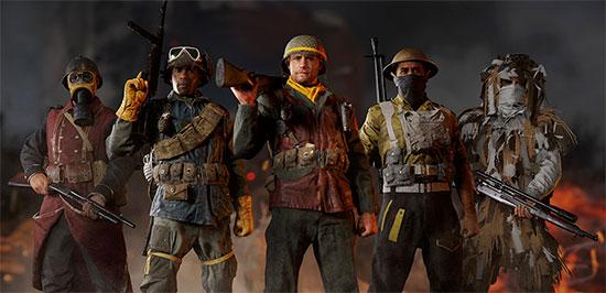 Migliori armi Call of Duty WW2 - Immagine divisioni