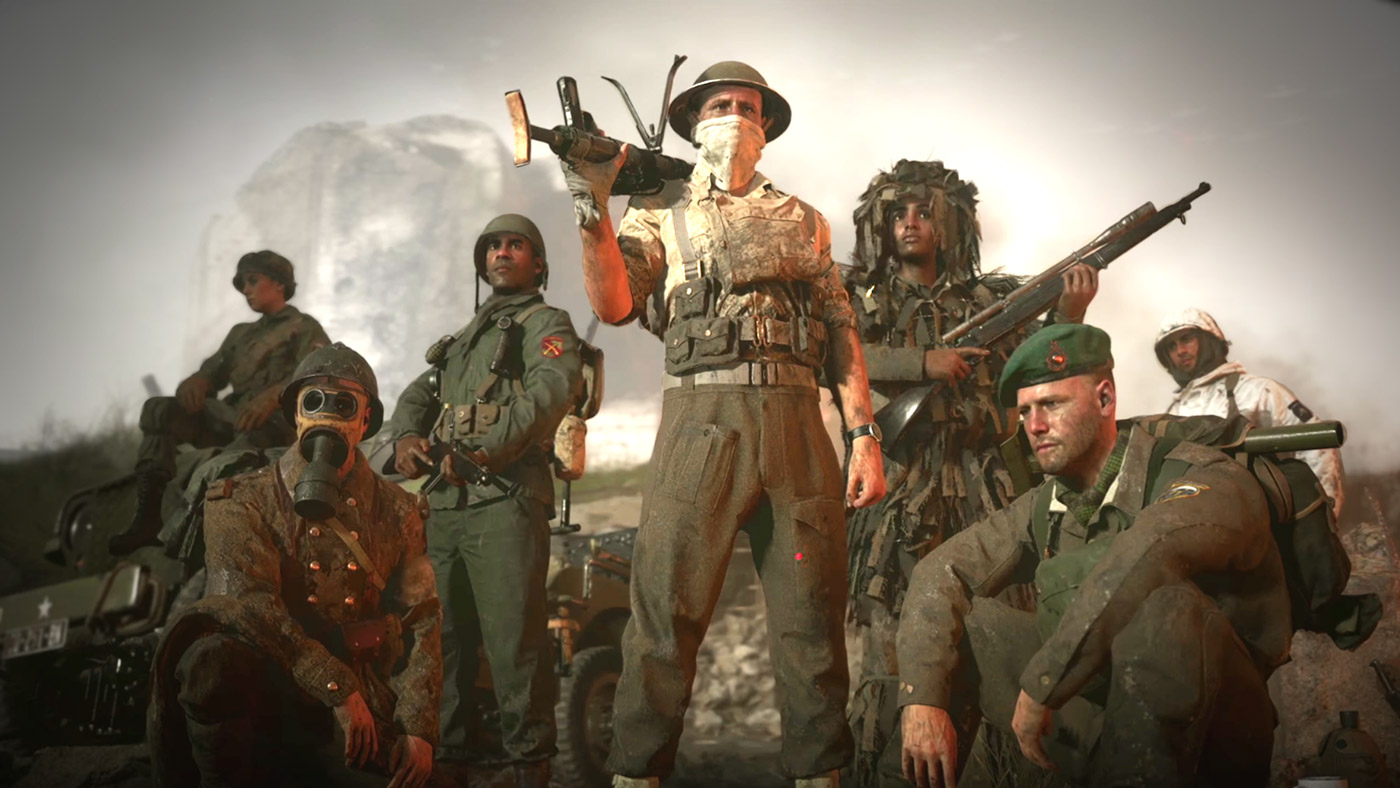 Migliori armi Call of Duty WW2 - Immagine squadra.