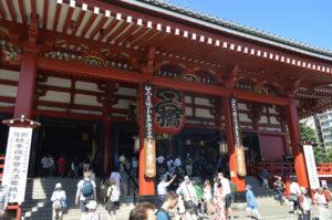 Foto del Tempio di Senso-ji.