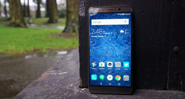 Huawei Mate 9 nella classifica dei migliori smartphone per giocare.