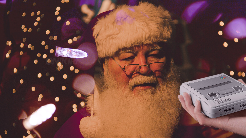 Babbo Natale e regali per videogiocatori