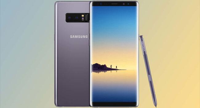 Samsung Galaxy Note 8 nella classifica dei migliori smartphone per giocare.