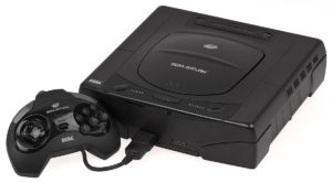 Sega Saturn vecchia console.