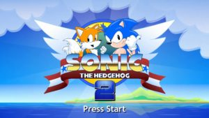 Sonic Hedgeog schermata.