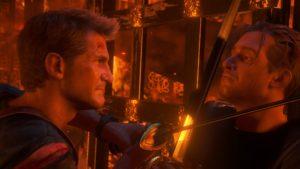 Nathan e Rafe Uncharted - scontro.