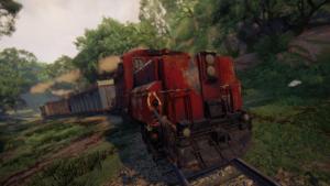 Battaglia treno Uncharted.