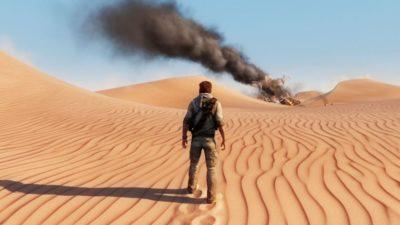 Nathan nel deserto.