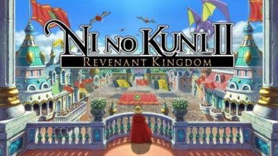 Ni No Kuni 2 Revenant Kingdom gioco immagine di copertina