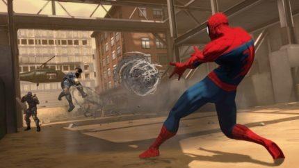 Spider Man PS4 screenshot