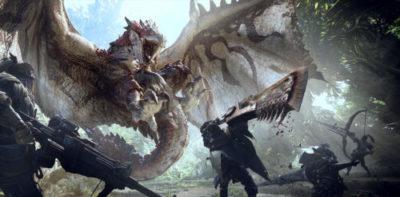 Monster Hunter World videogioco 2018 immagine