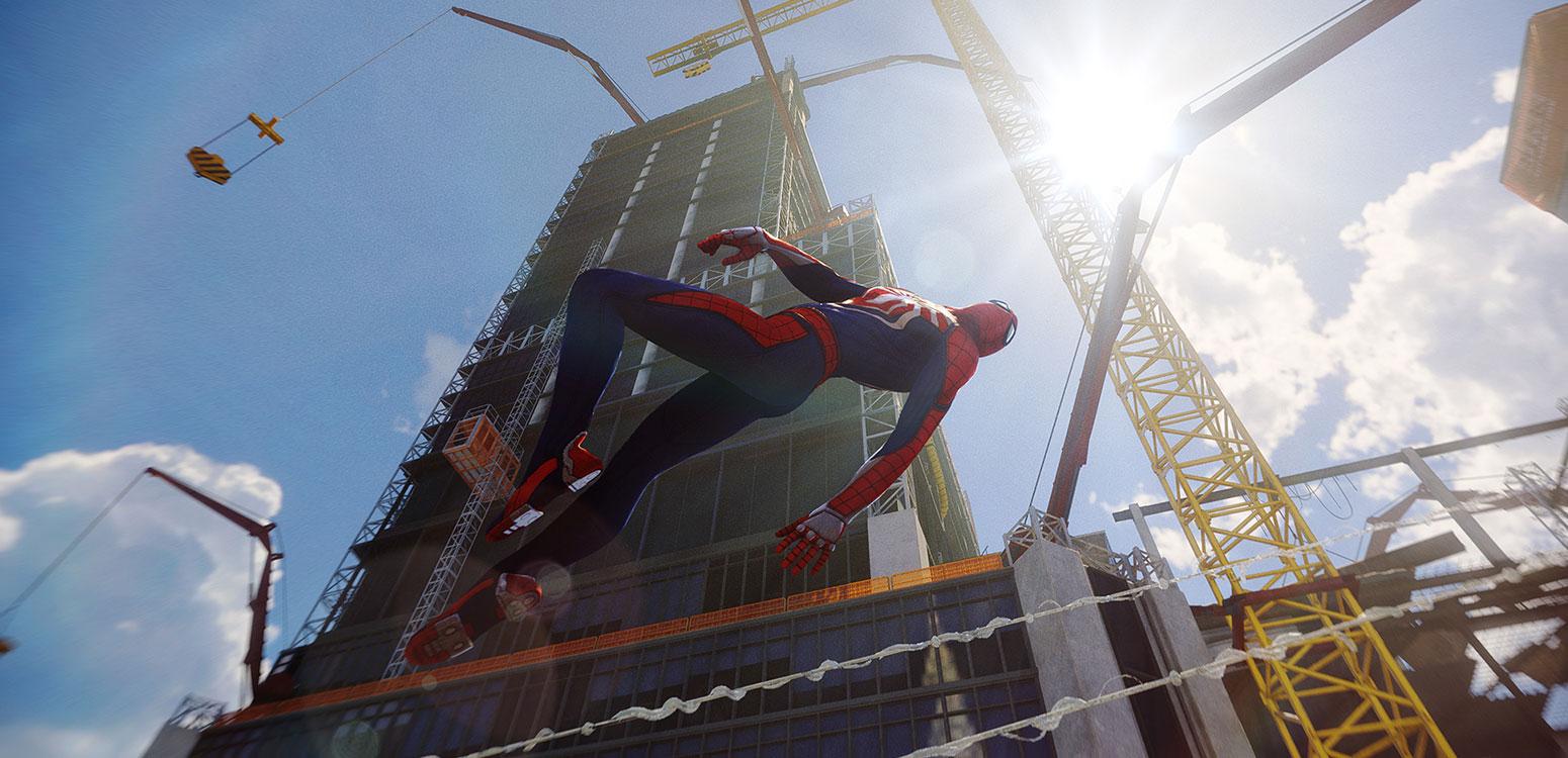 Spider Man immagine del nuovo videogioco.