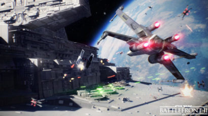 Astronave su Star Wars Battlefront 2.