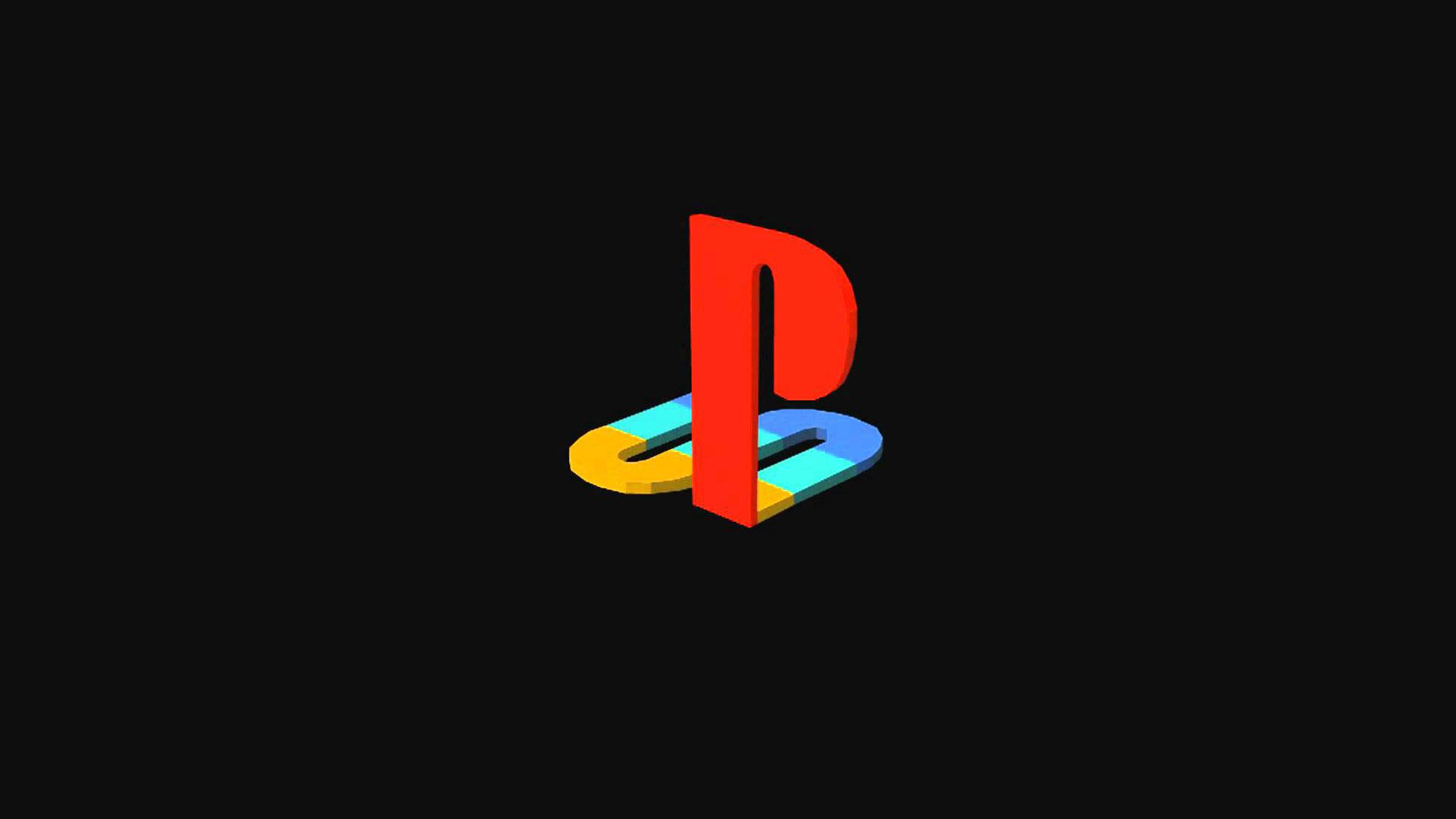 Il logo della prima Play Station.