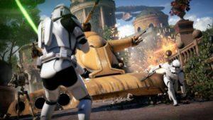 Star Wars Battlefront II battaglia.