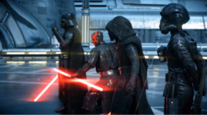 Eroi in battaglia su Star Wars Battlefront 2.