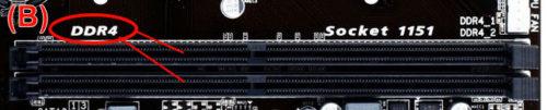 Alloggiamenti RAM