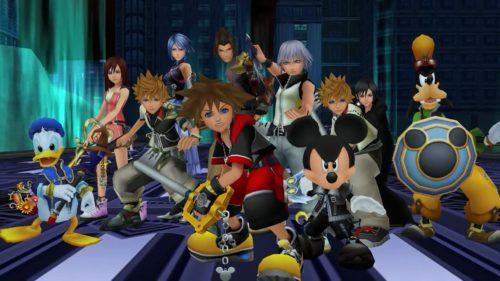 I protagonisti di Kingdom Hearts.
