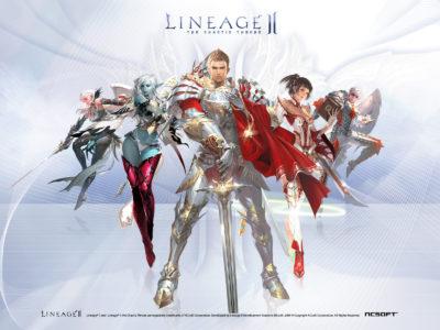 Lineage2 immagine copertina gioco.