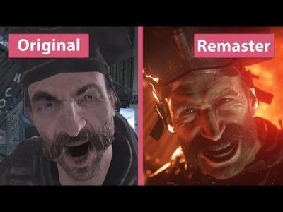 Differenza tra originale e remaster di Call of Duty Modern Warfare.