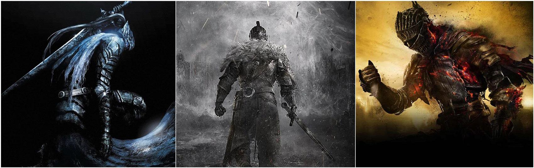 Dark Souls, varie immagini del gioco.