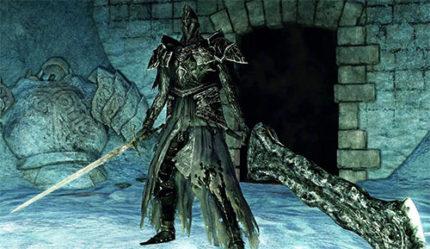 Cavaliere di Nebbia boss Dark Souls.