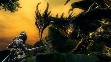Kalameet boss Dark Souls.